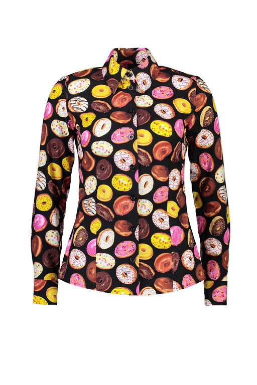 WORLD 4348 Saturday Night Shirt Donuts
