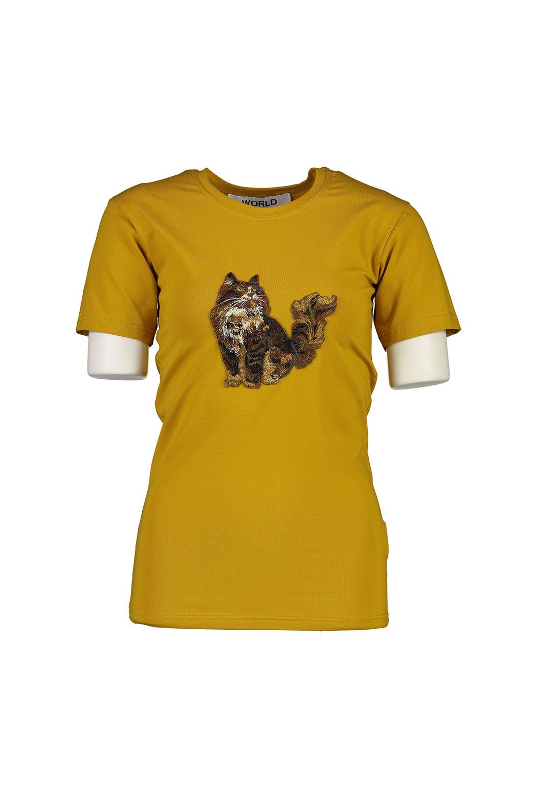 WORLD 4501 Two Wrongs T (Unisex) Mustard