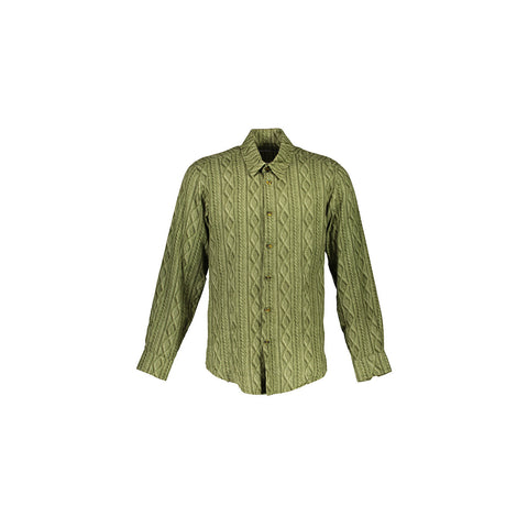 WORLDMAN 4136 Lenny Bruce Shirt Green