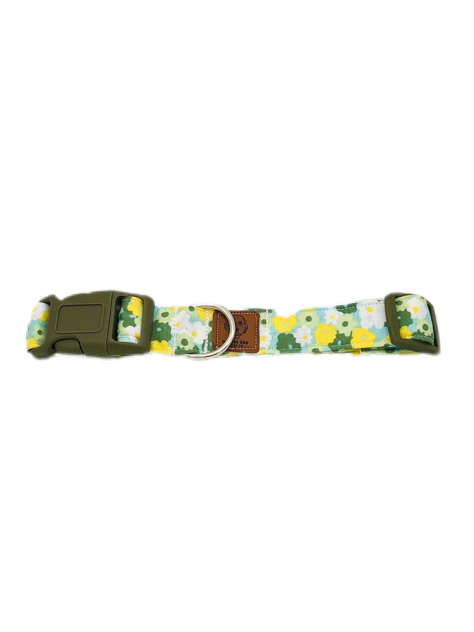 Yellow & Sage Floral Collar
