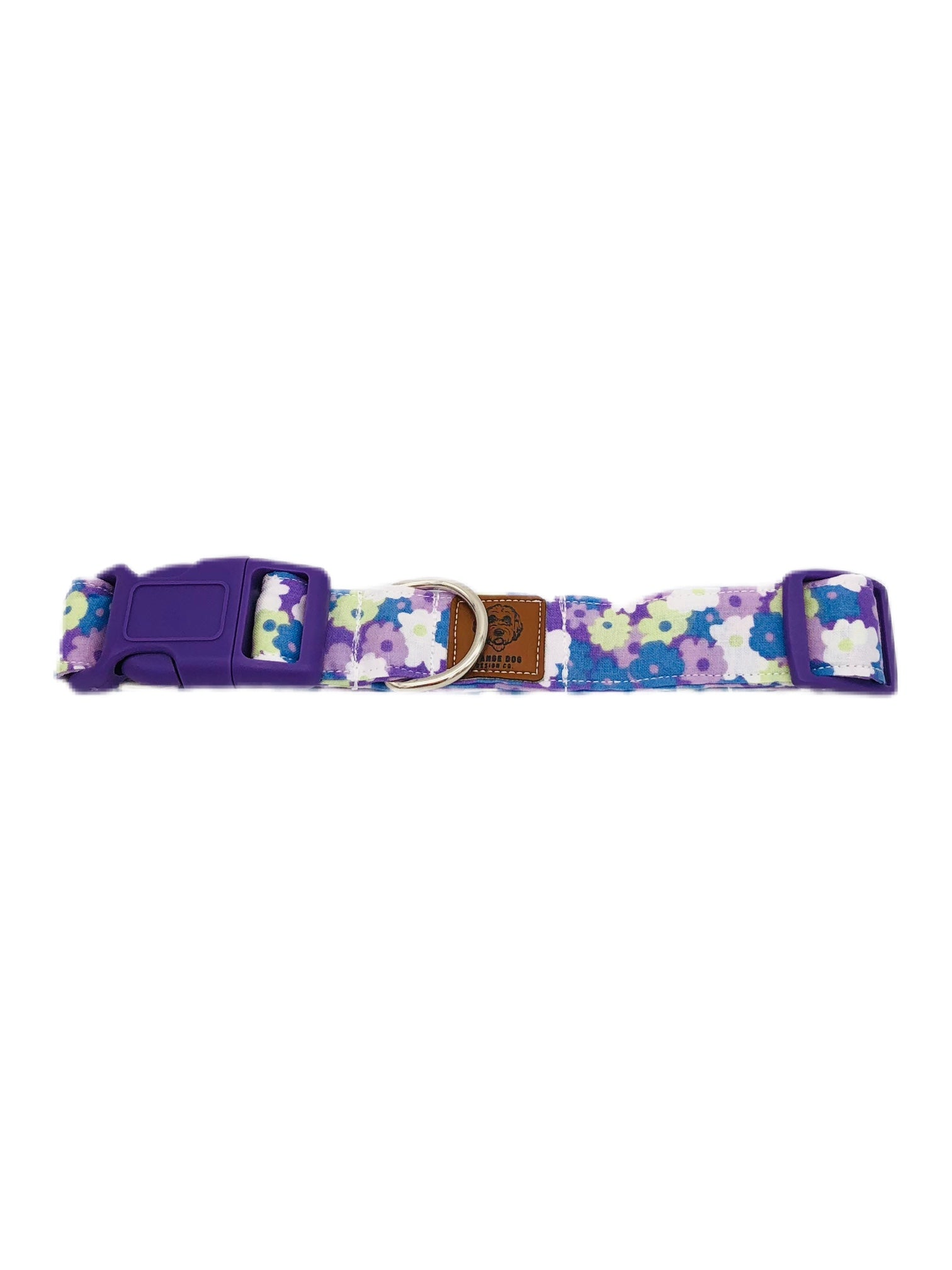 Purple Floral Collar