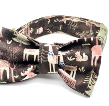 Load image into Gallery viewer, Woodland Forest Dog Collar w/Bow