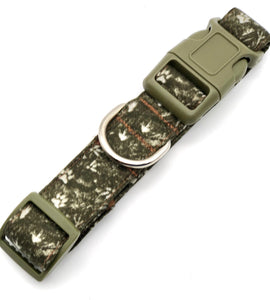 Paws And Claws Dog Collar w/Bow (Green)