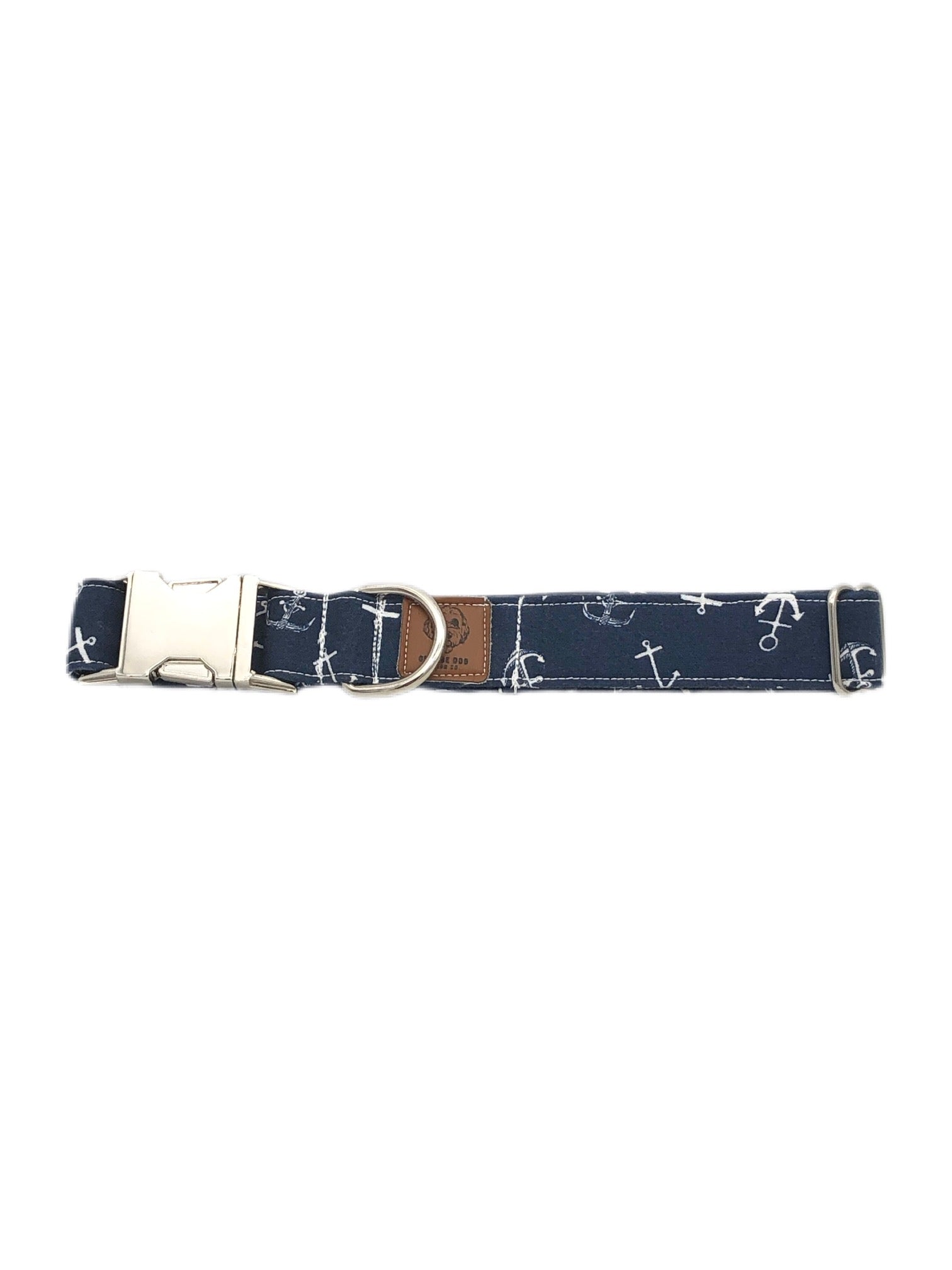 Nautical Navy Anchor Collar
