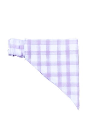 Purple Plaid Watercolor Stretch-danna