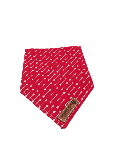 Red Arrow Dog Bandanna