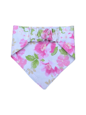 Fuschia Floral Stretch-danna