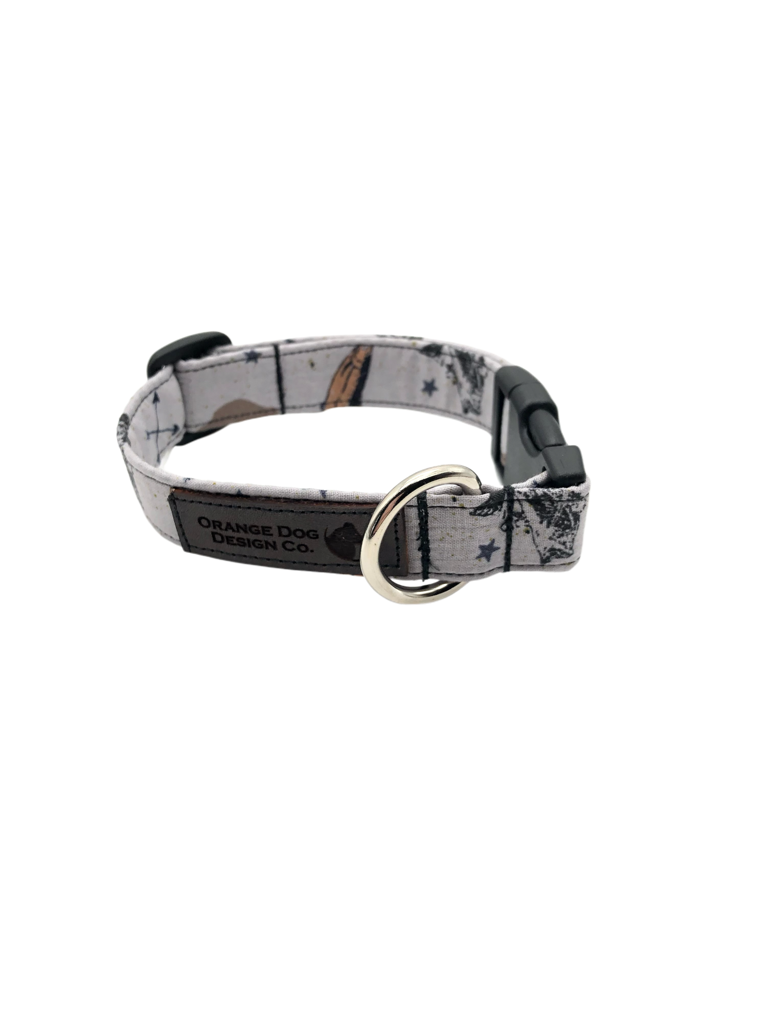 Gone Fishin' Dog Collar