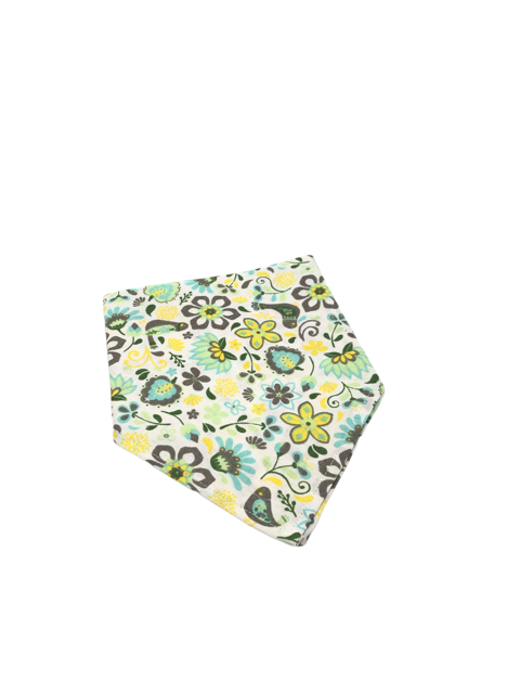 Yellow Floral Dog Bandanna