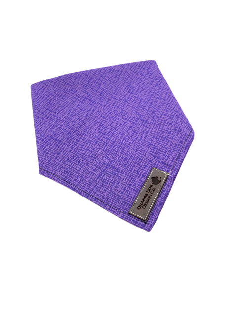 Purple Thatch Dog Bandanna
