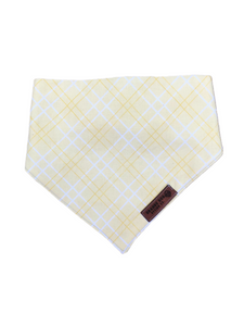 Yellow Plaid Stretch-danna