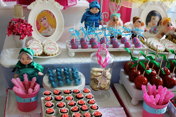 Once Upon A Time Disney Princesses Birthday Party