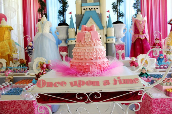 Once Upon A Time Disney Princesses Birthday Party Bickiboo Designs