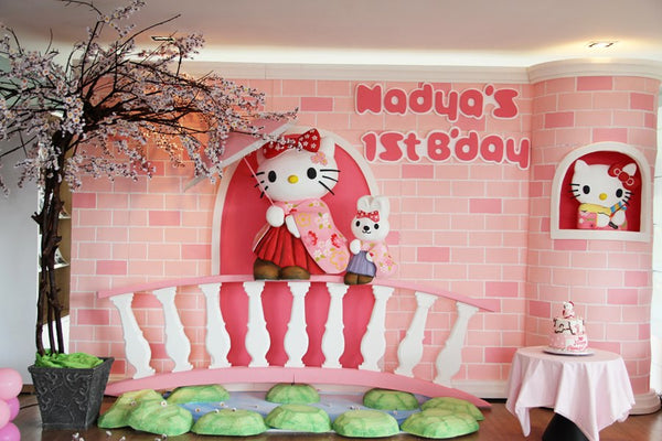 Hello Kitty First Birthday Party Bickiboo Designs