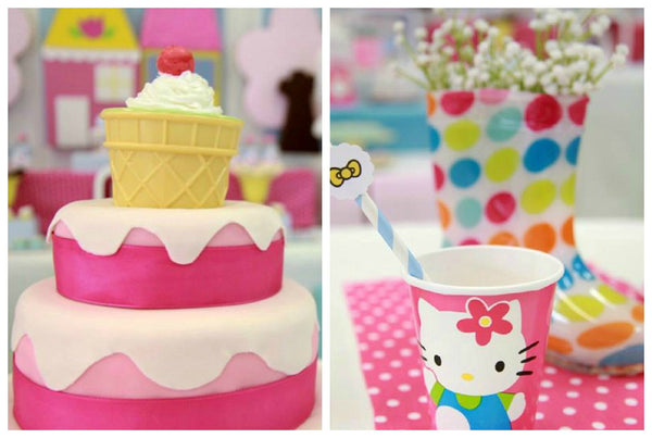 Hello Kitty Party For 2 Year Old