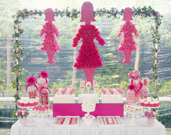 Breast Cancer Awareness Dessert Table Bickiboo Designs