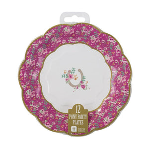 Pony Party Plates - Bickiboo Party Supplies