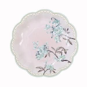 Truly Romantic Dainty Paper Plates -12pk - Bickiboo Designs