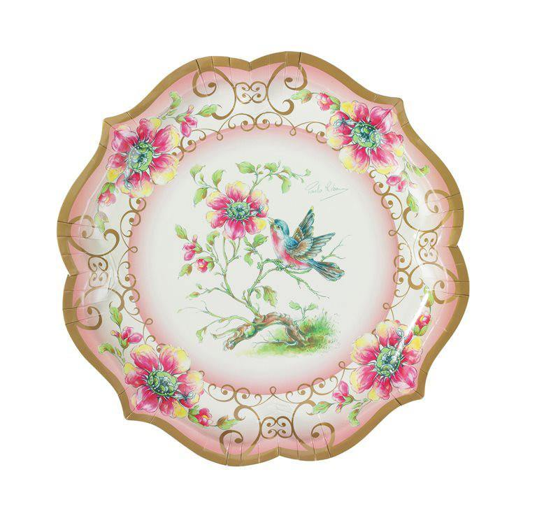 Utterly Scrumptious Large Serving Plate - Bickiboo Designs