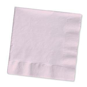 Classic Pink Beverage Napkin 50pack - Bickiboo Party Supplies