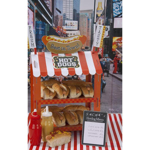 Hotdog or Popcorn Food Stand - Bickiboo Party Supplies