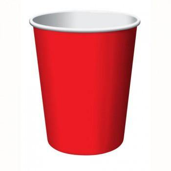 Classic Red Hot/Cold Cup 24pack - Bickiboo Party Supplies