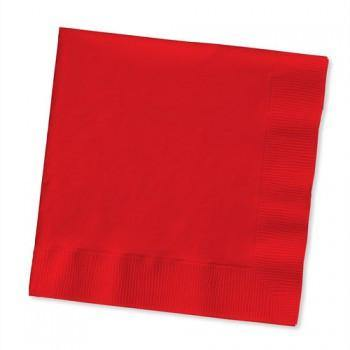 Classic Red Beverage Napkin 50pack - Bickiboo Party Supplies