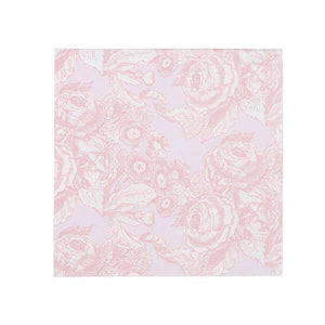 Party Porcelain Rose Cocktail Napkins - 20pk