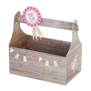 Pony Party Tack Treat Box - Bickiboo Designs