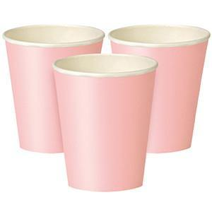 Classic Pink Hot/Cold Cup 24pack - Bickiboo Party Supplies