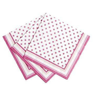 Pink N Mix Cocktail Napkin - Pack of 20