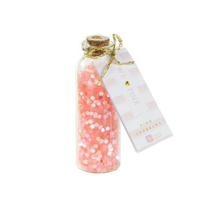 We ♥ Pink Sparkle Scatter
