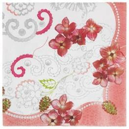 Pastries and Pearls Large Napkin - Pack of 20 - Bickiboo Designs