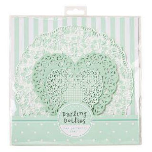 Mint Doilies (30 pack)