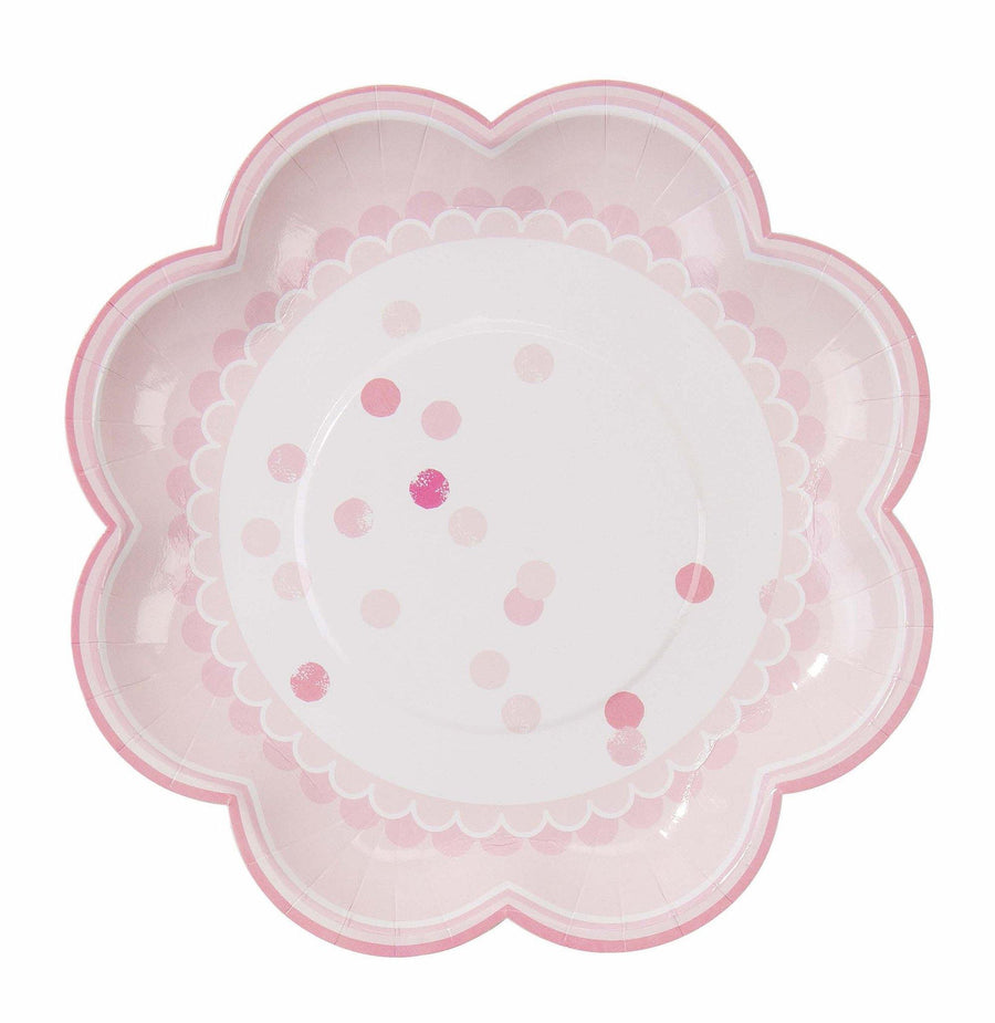 Pink N Mix Plate - Bickiboo Designs