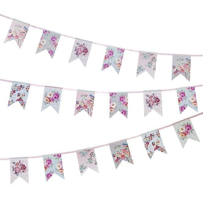 Truly Romantic Floral Bunting - Bickiboo Designs