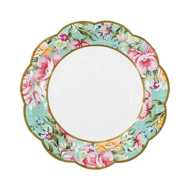 Truly Scrumptious Vintage Paper Plates - Bickiboo Designs