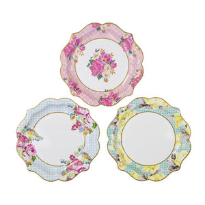 Truly Scrumptious Pretty Tea Party Plates - Bickiboo Designs