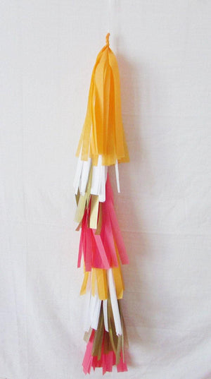 Petite Balloon Tassel Tail - Autumn Leaf - Bickiboo Party Supplies
