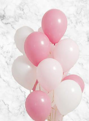 Baby Girl Balloons Bouquet
