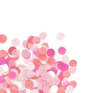 Hand-Cut Confetti - Pinks