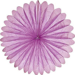 Lilac Purple Daisy Paper Fans - Bickiboo Designs