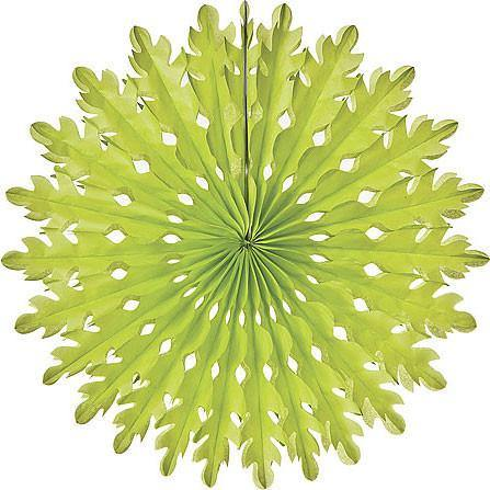 Green Honeycomb Paper Fans - Bickiboo Party Supplies