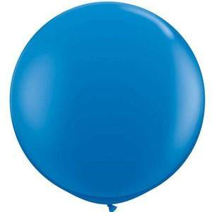 Giant Dark Blue Balloon - 90cm - Bickiboo Party Supplies
