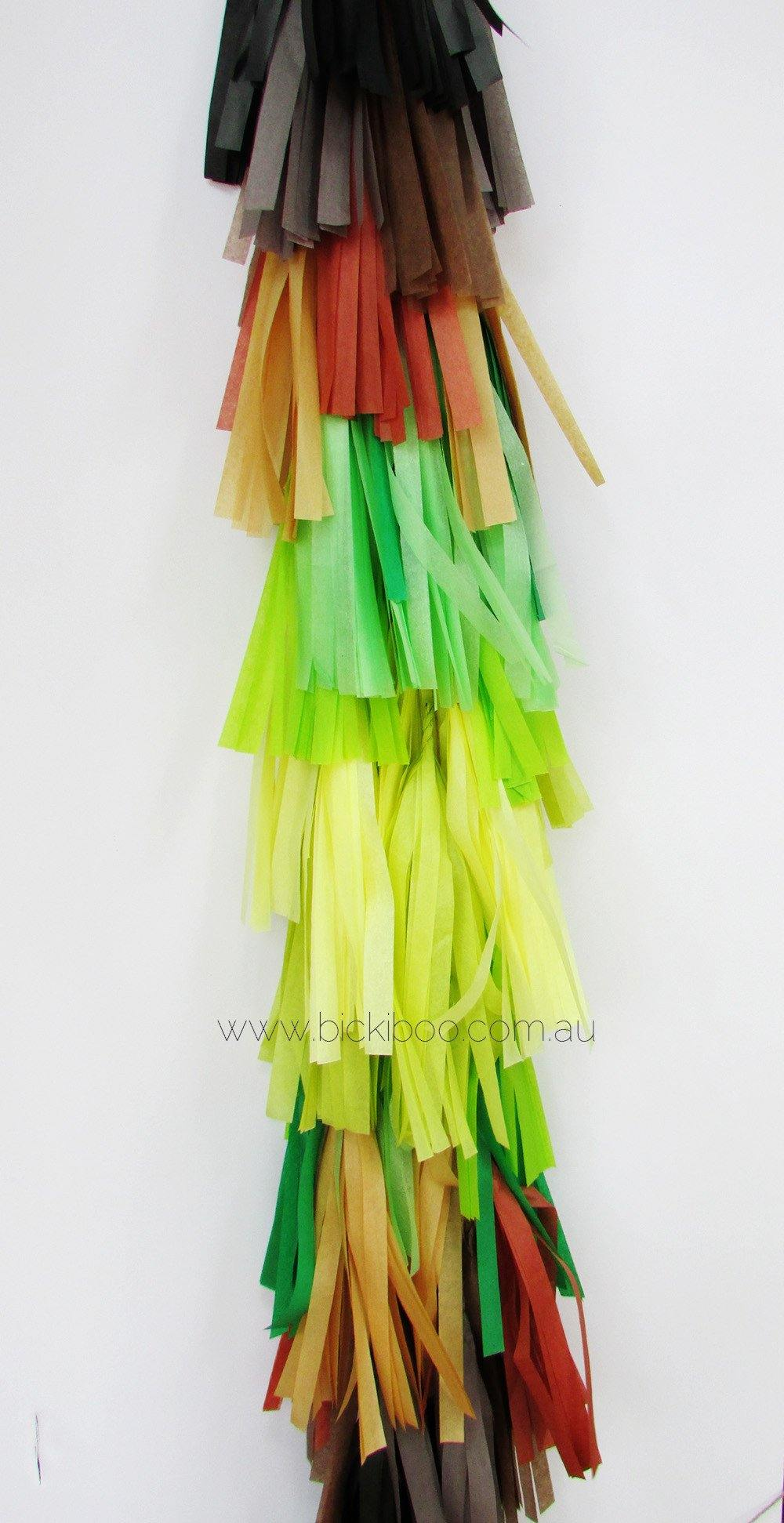 Balloon Tassel Garland - Earth Day - Bickiboo Party Supplies