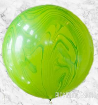 Green Marble 76cm Balloon