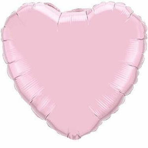 Pink Foil Giant 90cm Heart Balloon - Bickiboo Designs