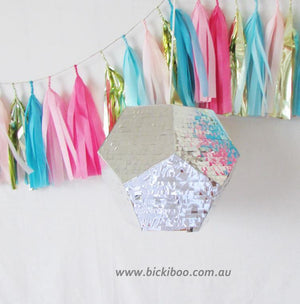 Geometric Piñata - Bickiboo Party Supplies