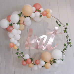Say it with Love - Organic balloons deco