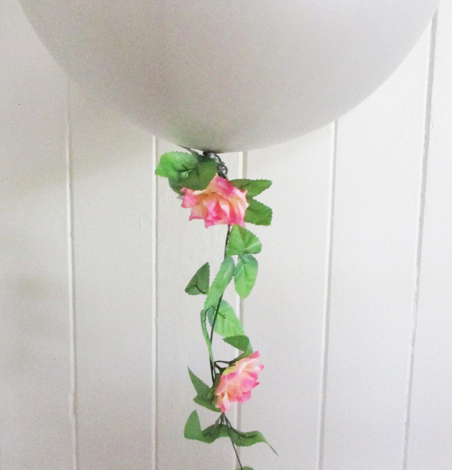 Balloon Tail - Rose Garland - Bickiboo Designs